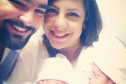Laura Castellanos dio a luz este jueves; los chicos, sanos y felices, como sus padres