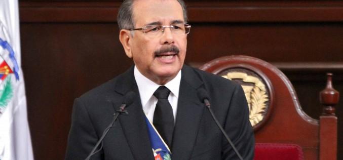 Danilo Medina y su discurso de rendicion de cuentas 2016
