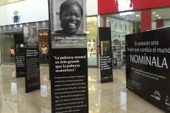 Exposicion fotografica con ganadoras del Premio Mujeres que Cambian el Mundo en Galeria 30
