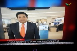 Frank Jorge Elias, de SuperCanal,  visita The Washington Post porque hara periodico para dominicanos en el exterior