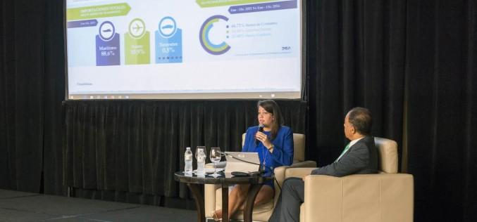 Direccion Aduanas inaugura portal de internet con acceso al sistema operativo, estadisticas y recaudaciones