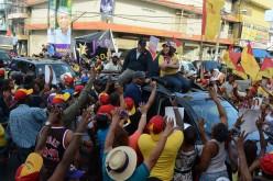 La vice tirada a la calle'el medio buscando votos en barrios de la Capital