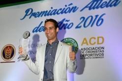Victor Estrella y Luguelin Santos felicitados por el presidente Danilo Medina