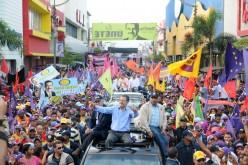 La salida del León, ¿en apoyo a Danilo o en campaña para el 20?