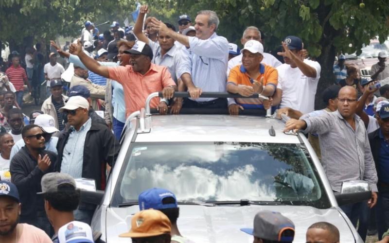 Luis Abinader: pueblo puede elegir entre un gobierno honesto y eficiente o continuidad de calamidades y fracasos
