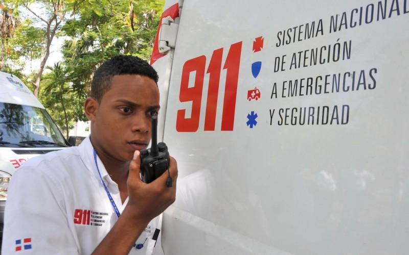 Imágenes en video de los primeros dos años del 911 en RD