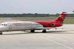 Avion de linea venezolana aterriza por error en Base Aerea de San Isidro