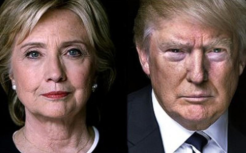 La ex secretaria de Estado y senadora Hillary Clinton en un pulso con un díscolo y fanfarrón llamado Donald Trump