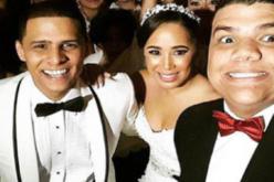 Se casó Manny Peralta, el de Full con Manny… Sí, el hijo de Domingo Bautista…