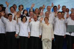 Presidente Medina en la inauguración del Canal de Panamá Ampliado