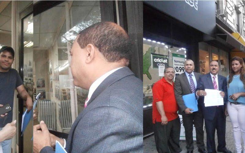 Piden a Guillermo Linares en Nueva York retirar su candidatura en el distrito 13 para que apoye a Adriano Espaillat