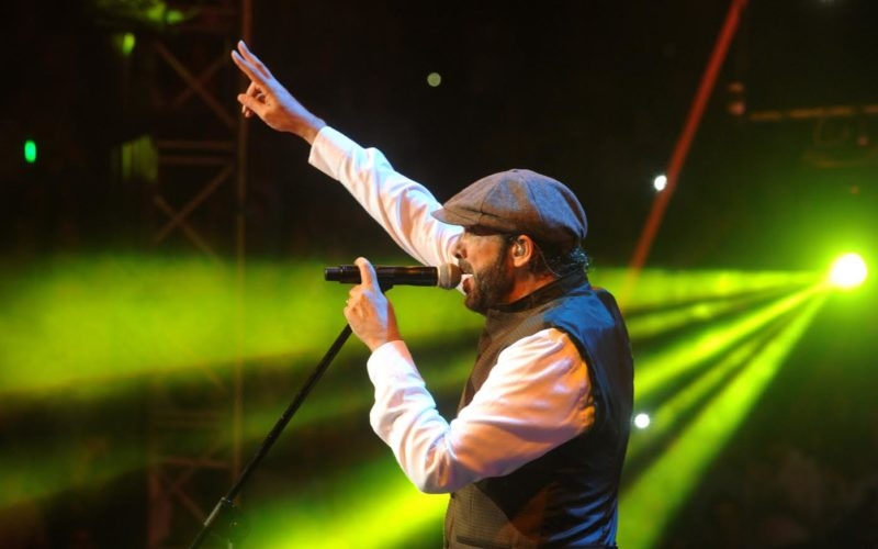 Juan Luis Guerra con Chayanne y Olga Tañón en concierto a presentarse en Lima estes ábado