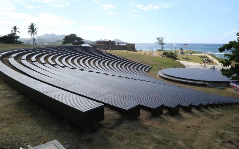 El anfiteatro de La Puntilla de Puerto Plata, inaugurado por el presidente Danilo Medina