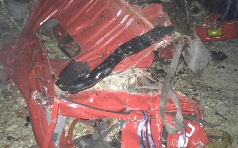 Tragedia de sábado por la noche… Al menos 13 muertos y 15 heridos en accidente de dos camiones en carretera Sánchez-Nagua