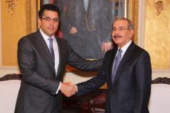 Video del encuentro del flamante alcalde del Distrito, David Collado, con el presidente Danilo Medina
