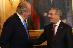 (Video) El presidente Medina recibiendo a Juan Carlos I, rey emérito de España