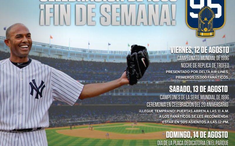 Los Yankees anuncian importantes actividades de fin de semana en su estadio, homenaje a Mariano Rivera incluido, pero no hay nada con Alex