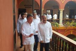 (Video) Danilo Medina en Colombia: «Nos unimos a la enorme alegría por triunfo de la paz y la convivencia»