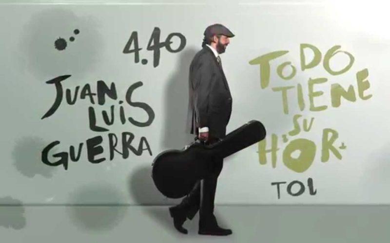 A Juan Luis Guerra le va tan bien con su gira «Todo tiene su hora» que seguirá con ella hasta el 2017
