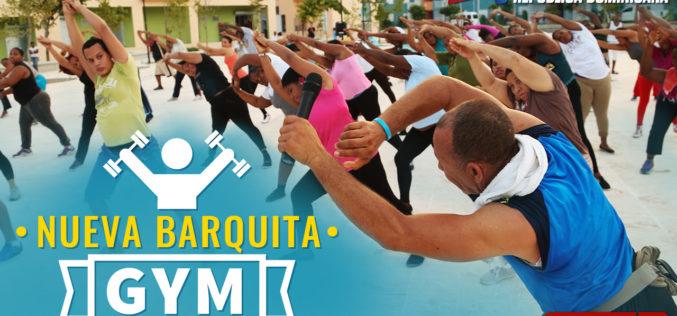 (Video) La Barquita Nueva hasta su gym tiene…