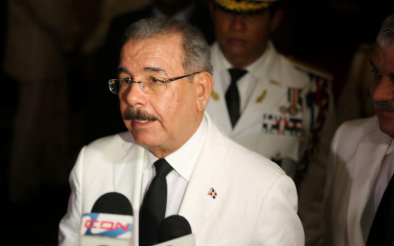 (Video) Presidente Medina dice con ayuda a Haití se hizo lo que se tenía que hacer