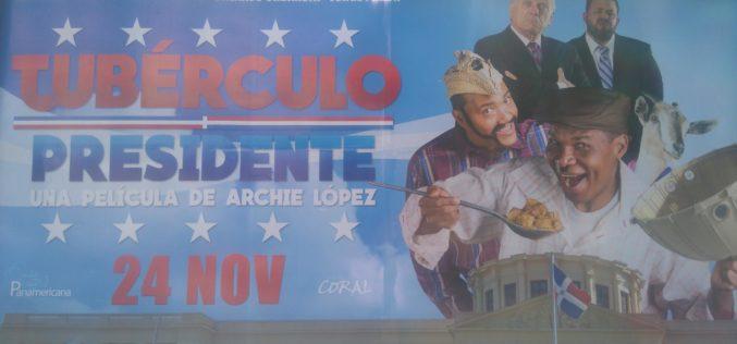 """""""Tubérculo Presidente"""", la película, en promoción """"full""""…"""