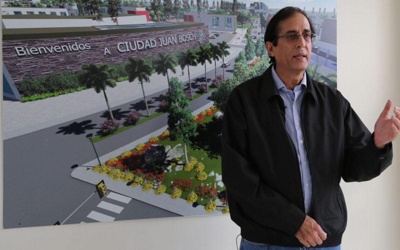 (Video) Calles de Ciudad Juan Bosch con nombres de obras y personajes del autor
