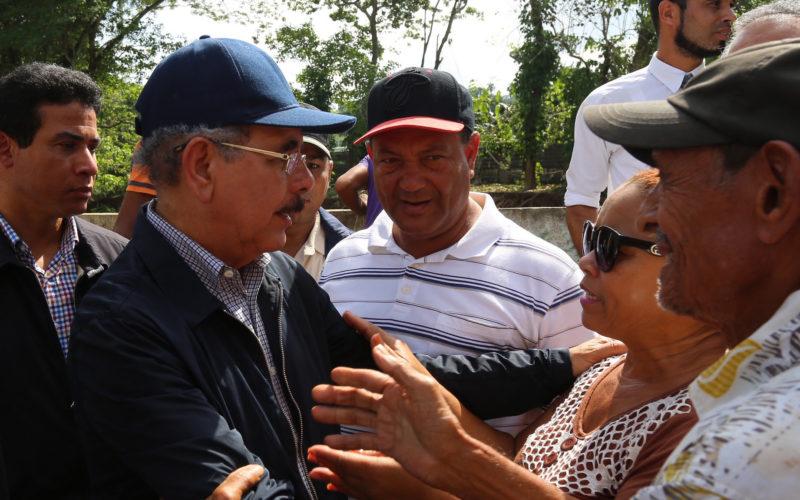 Danilo consternado ante muertes en Villa Isabela y El Mamey, Puerto Plata, por crecidas de ríos y cañadas