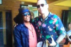 La visita del colombiano Santiago Cruz a Sergio Vargas en su rancho de Villa Altagracia