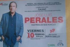 Ya se anuncia el último gran concierto que se presentaría en el anfiteatro Nurin Sanlley; es con el español José Luis Perales