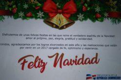 La tarjeta de felicitación navideña de la Presidencia de la República