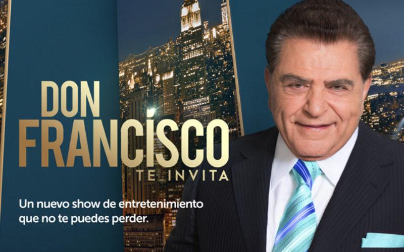 (Video) Don Francisco invita a ver El Show de Raymond y Miguel
