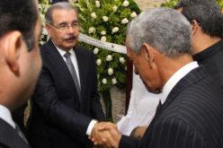 """Danilo Medina: """"Mayobanex Vargas fue un hombre íntegro (…) Yo lo conocía éramos amigos"""