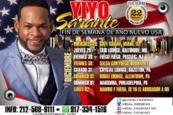 """Yiyo Sarante """"calienta el brazo"""" en Estados Unidos en Navidad y Año Nuevo… Lo que viene luego es lo grande…"""