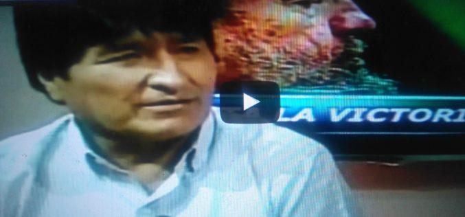 (Video) Evo Morales dice países que no se pliegan a EEUU son acusados de comunistas, terroristas o narcotraficantes