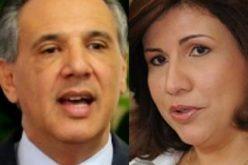 Margarita Cedeño y José Ramón Peralta enfrentados: ella cree administración Trump amenaza intereses RD; él cree los beneficia