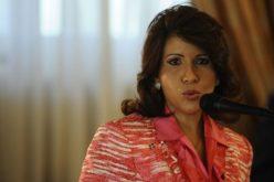 La vice Margarita se encargó de informar que fue dada de alta luego de ser operada de una hernia