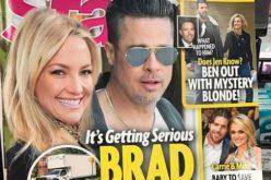 """Kate Hudson parece decir sobre Brad Pitt en la foto: """"Lo tengo; es mío…!"""""""