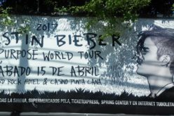 Justin Bieber promovido a todo dar para su concierto de abril en Punta Cana