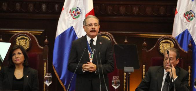 (Video) Danilo habla sobre Odebrecht, corrupción e impunidad en su discurso