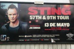 Arrancó la promoción del británico Sting en RD el próximo mayo