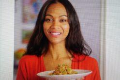 """(Video) Zoe Saldaña tiene en """"quinoa salteada"""" uno de sus platos favoritos"""