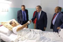 (Video) Danilo en visita sorpresa a hospital: «Con o sin seguro, atiendan a los pacientes»