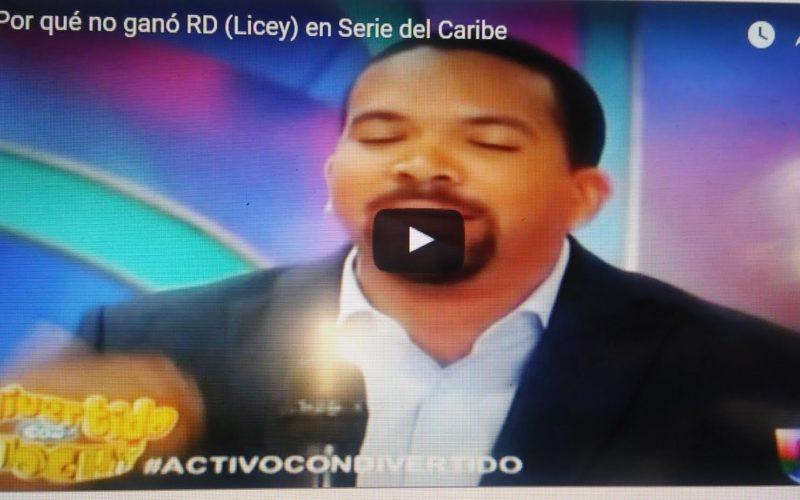 (Video) José Luis Mendoza, Vian Araujo y Aquiles Correa analizan por qué fracasó RD/Licey en la Serie del Caribe de Culiacán