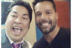 El Pachá con Ricky Martin…!! No habrá quien lo aguante ee sábado en Color Visión…!