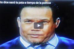 (Video) El Torito dice sacó la pata a tiempo de la política; lamenta perdieran las Aguilas y que el Licey lo pusiera a hacer fila