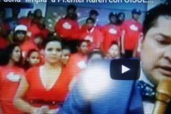 """(Video) El Pachá """"limpia"""" a Pimentel Kareh por el escándalo de corrupción en OISOE"""