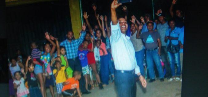 Milton Morrison está en campaña por Un País Posible… ¿Busca candidatura presidencial…?