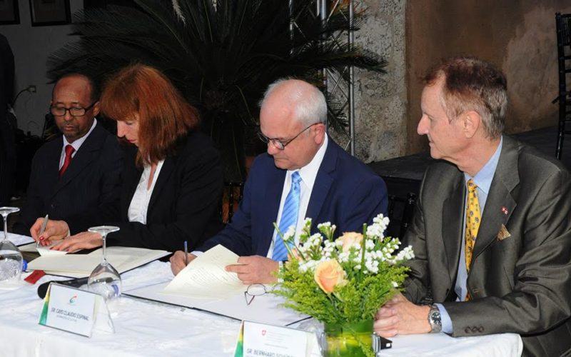 Fundación suiza dona instrumentos musicales al ministerio de Cultura RD