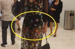 """Luz García """"mató"""" con su vestido en la premier de """"Reinbou"""""""
